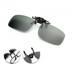 Polarized Sunglasses Clip (jungle green)